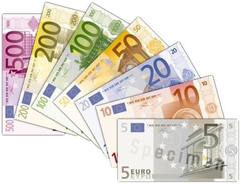 Как выглядит евро и что изображено на купюрах евро?