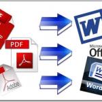 Как перевести WORD в PDF и PDF в WORD?