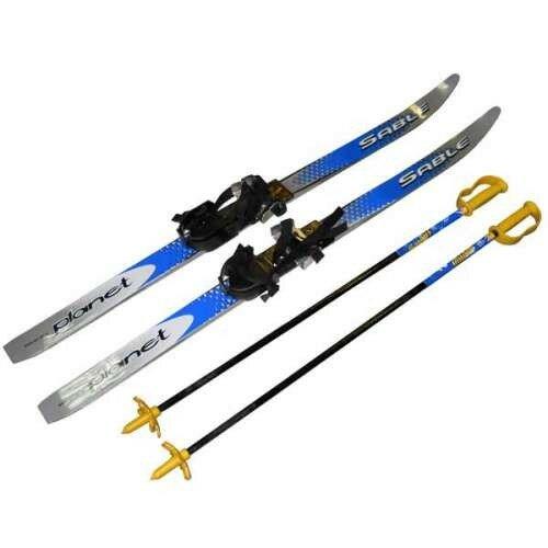 Как подобрать лыжи и палки по росту?