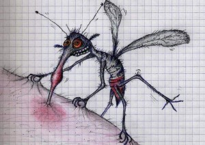 Кого кусают комары?