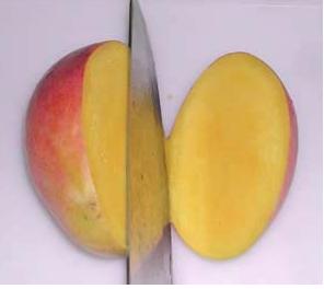 Как едят манго?