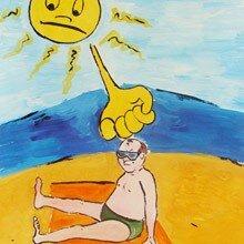 Солнечный удар и помощь при солнечном ударе