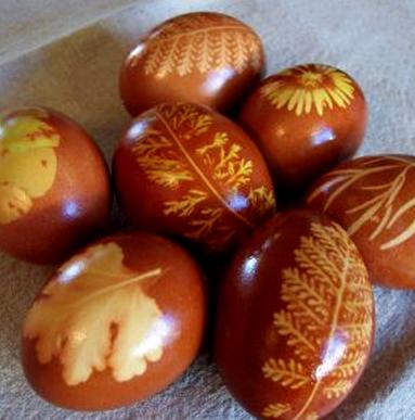 Как красить яйца на Пасху? Красим яйца.