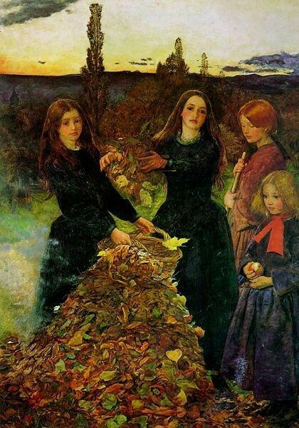 Осенние листья - картинки