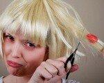 Как удалить жвачку от волос