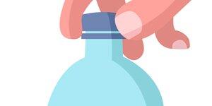 Как открыть крышку пластиковой бутылки, которая плотно закупорена (закручена)?